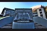 L'ingresso della piscina di Bormio Terme (foto R. Moiola)