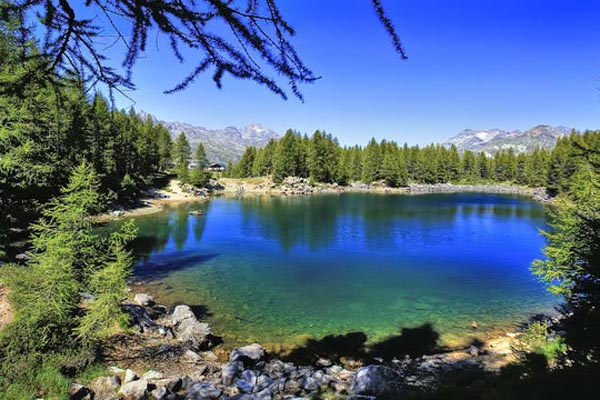 Lago Azzurro Matrimonio : Località della valtellina madesimo